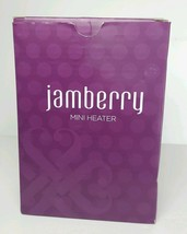 Jamberry Black Mini Heater with cord and original box - $9.49