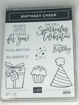 Stampin Up Birthday Cheer Cling Stamp Cupcake Detailed Birthday Dies Cel... - $44.99