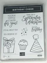 Stampin Up Birthday Cheer Cling Stamp Cupcake Detailed Birthday Dies Cel... - $44.99