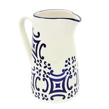 Portugal Gifts Hand-painted Ceramic Pitcher Made in Portugal - $49.95
