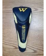 Warrior Custom Golf Hybrid Club Headcover - Magnetic Head Cover Yellow B... - $7.87