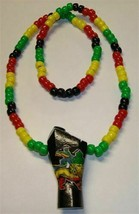 Large Pendant Beaded Necklaces - $13.00