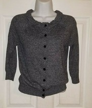 ANN TAYLOR LOFT Womens  Petite XSmall Gray Lovely Cardigan Sweater  - $23.76