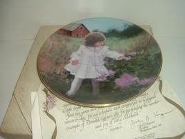 Pemberton Oakes Donald Zolan Ribbons and Roses plate w Box COA - $16.99