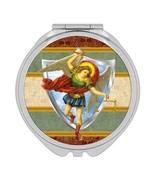 St Michael The Archangel : Gift Compact Mirror Angel Catholic Religious ... - £9.44 GBP