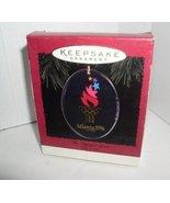 "HALLMARK KEEPSAKE ORNAMENT 1996 ATLANTA ""THE OLYMPIC SPIRIT"" - $2.48"