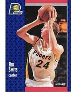 Rik Smits ~ 1991-92 Fleer #86 ~ Pacers - $0.05