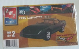 Amt Ertl 50th Anniversary 1995 Corvette ZR-1 1/25 Model Kit - $18.69