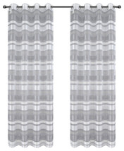 Becca Drapery Curtain Panels with Grommets image 12