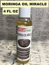 AFRICAN ANGEL MORINGA OIL MIRACLE SKIN & SCALP PURIFIER ANTI OXIDANTS  4OZ