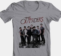 The Outsiders T-shirt 1980s retro style movie 100% cotton grey tee Free Shipping image 1