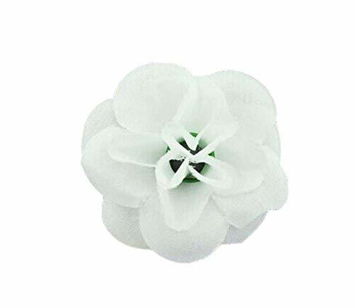 4 Pieces Of Cute Handmade Jewelry Adjustable Small White Rose Ring