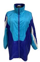 Vintage 80' 90' Climate Zone women's jacket zipper front multicolor size... - $19.69