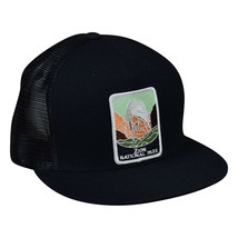 Zion National Park Trucker Hat by LET'S BE IRIE - Black Snapback - £16.59 GBP