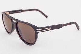 Mont Blanc Dark Havana / Brown Roviex Sunglasses MB699S 52J Barberini Glass - $195.02