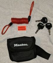 Master Lock Company Disc Brake Lock With Cable And Storage Bag image 5