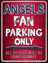 California Angels Novelty Mini Metal Parking Sign MLB  Fan Parking Only ... - $8.86