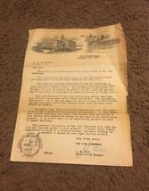 Vtg 1920s homestead iowa letter - $25.74