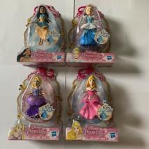 Disney Princess Mini Figure Set Cinderella Aurora Rapunzel Pocahontas - $29.39