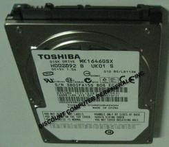 "160GB 2.5"" SATA MK1646GSX HDD2J96 9.5mm Hard Drive Tested Good Our Drives Work - $16.61"