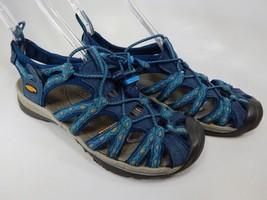 Keen Whisper Size US 8 M (B) EU 38.5 Women's Outdoor Sport Sandals Blue 1014206