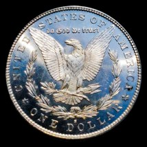 1879 S  Proof Like /PL Morgan Silver  Dollar/ REV  CAMEO.  301 - $151.90