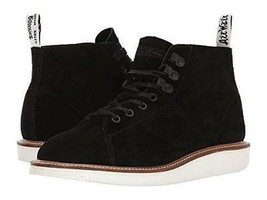Dr. Martens Lesley Women's Black Soft Buck Lace Up Ankle Boots Sz 10 US ... - €57,08 EUR