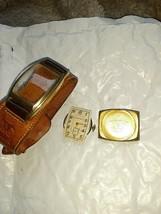 Working Vintage 1940 Longines Mens Watch Leather Strap 10L 17 Jewels 6088133 10k - $300.00