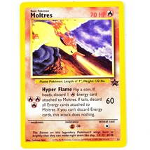 Pokemon TCG Moltres 70HP Promo Promotion Card 21 Trading Card Game - $1.97