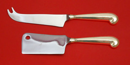 Queen Anne-Williamsburg by Stieff Sterling Silver Cheese Serving Set 2P ... - $110.30