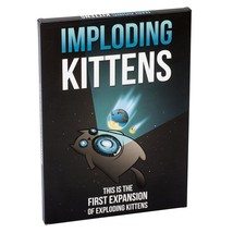 Imploding Kittens: This is the First Expansion of Exploding Kittens Card... - $22.76