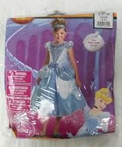 Child Small 4-6 Cinderella Dress Up Halloween Costume Girl Disney Princess - $13.49