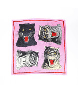 Gucci Tiger Face Silk Scarf - $390.00