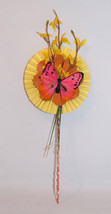 Handcrafted Decorated Flower Gift Valentine's Day Mother's Day, Housewar... - $7.00