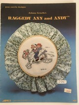 Johnny Gruelle Raggedy Ann and Andy Cross Stitch Pattern Book OOP Rare - $17.99