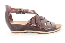 Dansko Vivian Nappa Burgundy Sandals Women's Size EU 40        ($ ) - $121.20