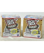 Tech Deck™ Dudes Mini Sk8 Crate From Crate To Skate LOT OF 2 Toy Gift - $16.72