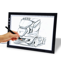 A4 LED Tracing light Board Artist Tattoo Drawing Drafting Graphics Table... - $32.79