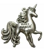 Unicorns Magical Inspirational Zinc Pocket Charm with Story Card (Magical) - $4.57