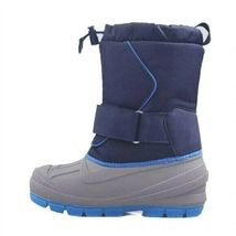 Cat & Jack Boys Kids Youth Blue Gray Cordie Thermolite Insulation Winter Boots  image 3