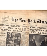 The New York Times Friday, October 14, 1960 (Section One) - $5.95