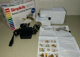 Simplicity Rotary Cutting Machine Model 881950 Quilting Scrapbooking Cardmaking - $36.52