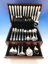 La Regence by Carrs UK Sterling Silver Flatware Set 12 Service 67 pieces Dinner - $9,650.00