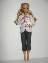 Barbie I can be a Vet Doll Moving Arms Pets Kitty Puppy - $5.99