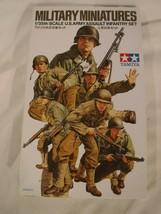 1/35 Tamiya US Army Assault Infantry Set # 192 Kit has 6 GI's & Equipmen... - $14.84