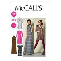 McCall Patterns M6612RR0 Misses'/Women's Dresses Sewing Pattern, Size RR (18W-20 - $15.68