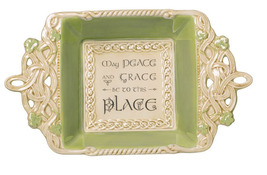 'May Peace and Grace be to this Place' Irish Candy Dish - $12.90