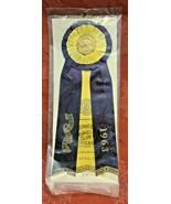 Vintage CHICAGO Kennel Club Award Ribbon 1963 AKC BEST OF BREED - $2.98