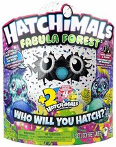 Hatchimals Colleggtibles Fabula Forest Set 1 Large and 2 Colleggtibles - $40.99