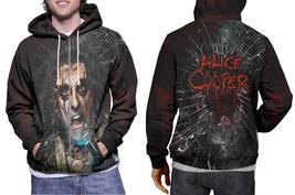 Alice Cooper Zipper Hoodie for Men - $50.99+